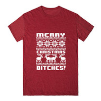 Merry Christmas Bitches Ugly Sweater Design