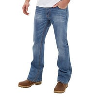 Mens Joe Browns Mid blue bootcut joe jeans
