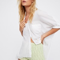 Free People So Lucky Smocked Short