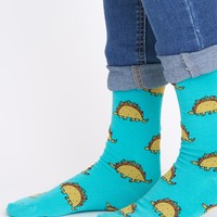Tacosaurus Knee High Socks