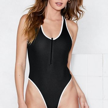 Make It Zippy Swimsuit