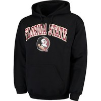 Men's Fanatics Branded Black Florida State Seminoles Campus Pullover Hoodie