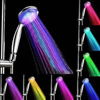 Multicolor LED Shower Spray Head Water Glow Light (7 Colors)