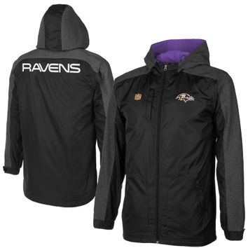 Youth Baltimore Ravens Purple Hourglass Pullover Hoodie