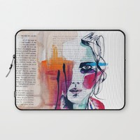 Sense V Laptop Sleeve by Holly Sharpe