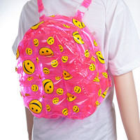 90s Smiley Inflatable Bubble Backpack