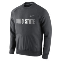 Nike College Hybrid Fleece (Ohio State) Men's Sweatshirt