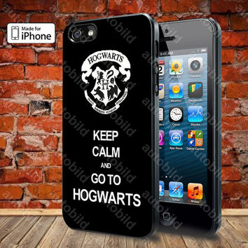 Keep Calm and Go to Hogwarts Case For iPhone 5, 5S, 5C, 4, 4S and Samsung Galaxy S3, S4