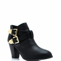 Two Is Company Ankle Boots