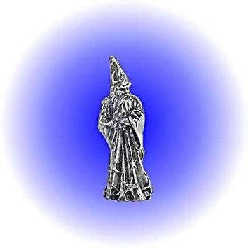 Fantasy Wizard Pewter Figurine   Lead Free