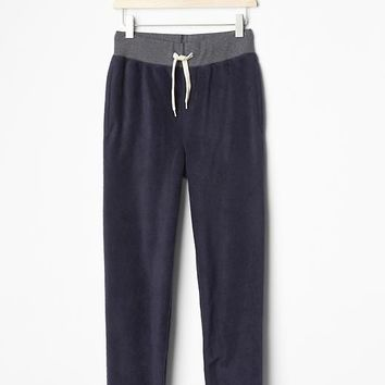 Gap Boys Contrast Waist Pro Fleece Pants