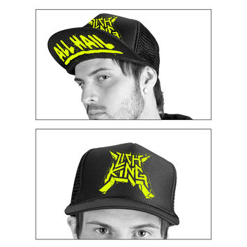 "Lich King ""All Hail Trucker Hat"" Trucker Hats"