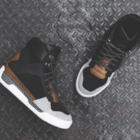 Y-3 Held II High Top - Black / Grey / Brown
