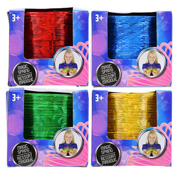 Bulk Colorful Laser-Finish Magic Springs, 2.75 in. at DollarTree.com