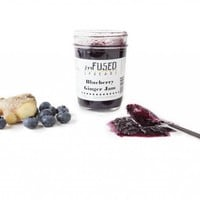 Blueberry Ginger Jam | Infused Spreads