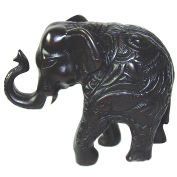 Chinese Polystone Resin Elephant Statue