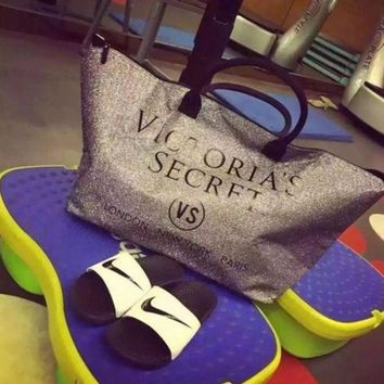 ONETOW shosouvenir: VS Vitoria's Secret bag big beach bag