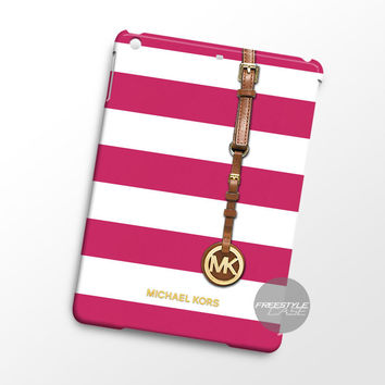 Michael Kors Jet Set Striped Pink iPad Case Case Cover Series