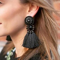Drop Dangle Fringe Earring