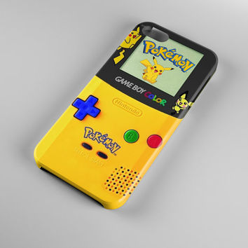 Pokemon-Gameboy-Color-Pikachu design for all device