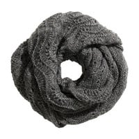 Pattern-knit Tube Scarf - from H&M