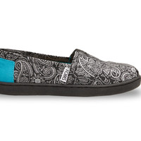 Black and Turquoise Paisley Youth Classics US