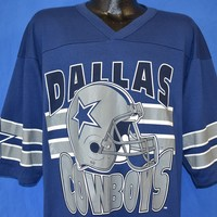 80s Dallas Cowboys Jersey t-shirt Extra Large