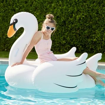 Sunnylife Swan Pool Float