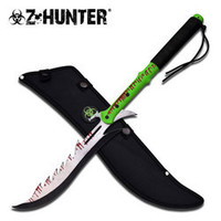 27-1/2 in ZOMBIE Z Hunter Machete/ Sword ZB100