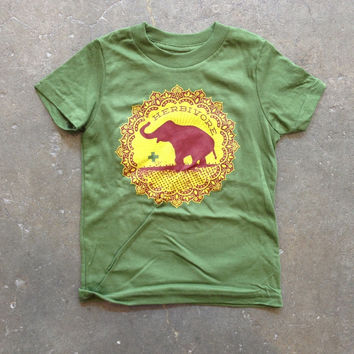 Good Luck Elephant Kid T-Shirt