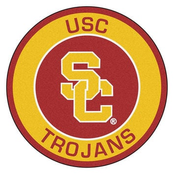 USC Trojans NCAA Rounded Floor Mat (29in)
