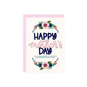 Proud of Me Mother's Day Card