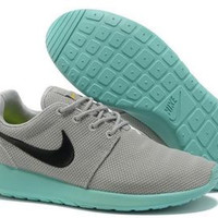 n003 - Nike Roshe Run (Grey/Teal)