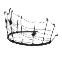 Halloween Spider Web with Spiders Crown