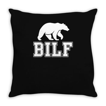 bilf, bear i'd like to Throw Pillow