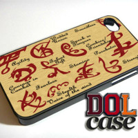 Mortal Instruments iPhone Case Cover|iPhone 4s|iPhone 5s|iPhone 5c|iPhone 6|iPhone 6 Plus|Free Shipping| Delta 404
