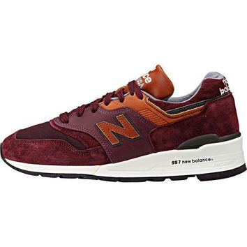 CREYONV new balance 997 made in usa connoisseur retro ski purple heather cathay spice