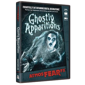 ATMOSFEARFX GHOSTLY Ghostly Apparitions Dvd - Haunted Horror Decor for Halloween 2017