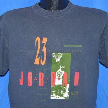 CREYONB 1988 Nike Michael Air Jordan Defensive Player of the Year t-shirt Large
