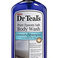 Dr. Teal's Body Wash, Detox, 24 Ounce