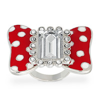 Minnie Mouse Bow Ring for Women by Disney Couture | Disney Store