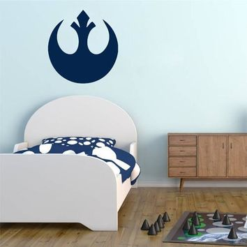 ik2204 Wall Decal Sticker STAR WARS Rebel Alliance Living children's room