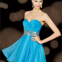 Alyce Paris 3617 - Sweet 16 - Short Prom Dress - Homecoming - 3617