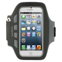 Belkin Easefit Plus Armband for iPhone5 - Black (F8W106ttC00)