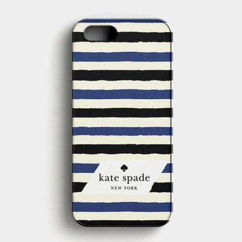 Kate Spade In Stripes iPhone SE Case