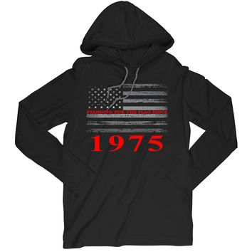 Standing For The Flag Since 1975 Long Sleeve T-Shirt Birthday Hoodie