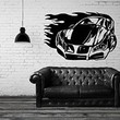 Vinyl Wall Decal Sticker Bedroom Holl Dorm Car Speed Boy Gift Race Track A42