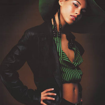 Alicia Keys Songs in A-Minor 2002 Poster 22x34
