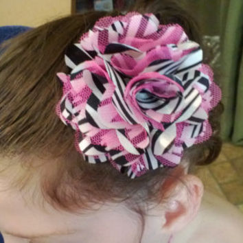 All Sizes Flower Hair Clip 002