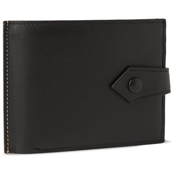 Maison Margiela - Two-Tone Leather Double-Billfold Wallet | MR PORTER